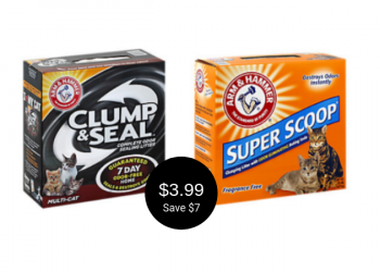 Arm & Hammer Cat Litter Coupon – Only $3.99 at Safeway (Save $7)