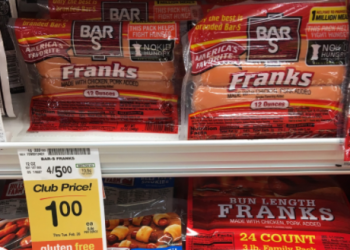 Bar-S Hot Dogs for as Low as $0.50 Each