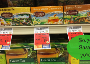 Celestial Seasonings Bagged Tea Only $0.79 – Through Today (2/27)