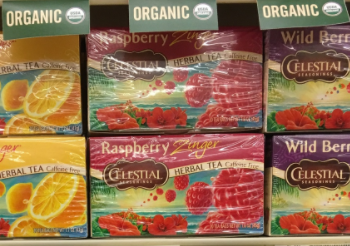Celestial Seasonings Tea Coupon – Pay $1.29 Per Box