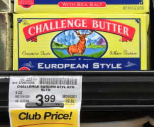 Challenge European Style Butter for $1.99