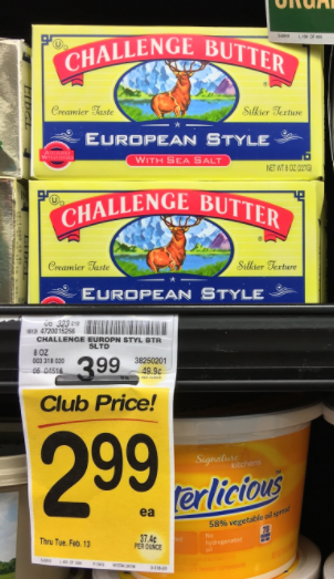 Challenge European Style Butter