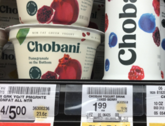 FREE Chobani Yogurt at Safeway