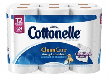 Cottonelle Coupon Stack –  Only $3.49 Each for Toilet Paper or Flushable Wipes