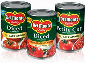 Del Monte Coupon – Only $0.50 for Canned Tomatoes