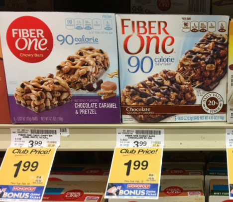 Fiber One Coupons - Pay as Low as $1.49 - Super Safeway