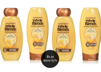 Garnier Coupons = Pay as Low as $1.50 for Shampoo or Conditioner at Safeway