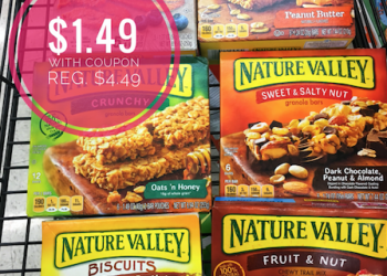 Nature Valley Coupon – Pay $1.49 for Bars, Biscuits, & Squares