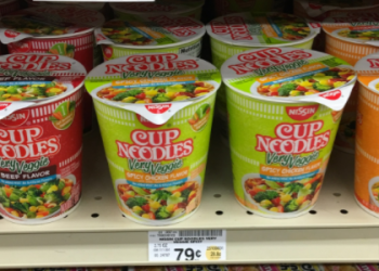 *HOT* Nissin Very Veggie Cup Noodles a $0.21 MONEYMAKER
