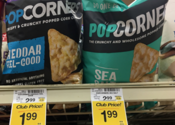 POPCORNERS Coupon, Only $0.75 for Chips