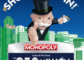 Safeway Monopoly Game 2019 – Win $250 Million in Cash and Prizes 2/6 – 5/7