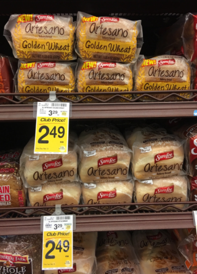 Sara Lee Artesano Coupon - Pay as Low as $1.49 for Bread ...