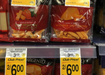 Sargento Coupon, Pay $2.00 for Snack Bites