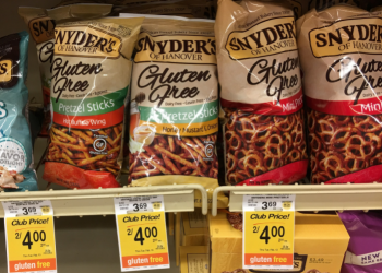 Snyder's Pretzels Coupon, Only $1.49 a Bag or $1.50 for Gluten-Free Pretzels