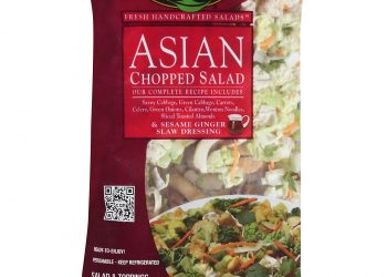 Taylor Farms Coupon – Chopped Salad Kits for $1.50 (Buy up to 4 Bags)