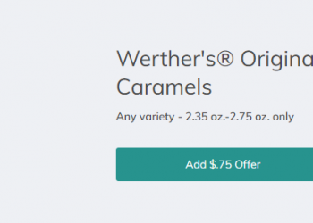 Werther's Original Caramels for as Low as $0.75 a Bag