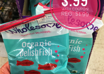 Wholesome Organic DelishFish Candy – Only $0.99 a Bag