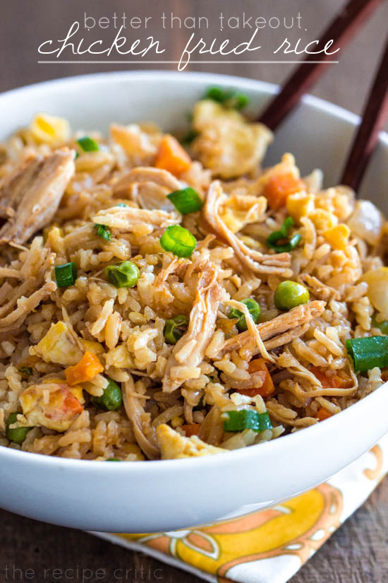 Better than takeout chicken fried rice the recipe critic forumfinder Image collections