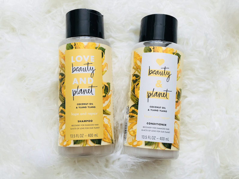 love, beauty and planet coconut oil shampoo