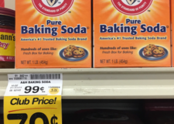 Arm & Hammer Baking Soda for $0.29 (Perfect for Easter Baking & Spring Cleaning)