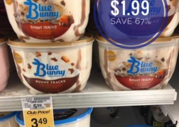Blue Bunny Ice Cream & Novelties Only $1.99 After Coupon Stack