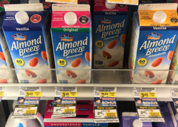 Blue Diamond Almondmilk Coupon & Sale – Pay as Low as $1.50