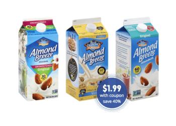 Blue Diamond Almondmilk Coupon & Sale – Pay as Low as $1.99 at Safeway