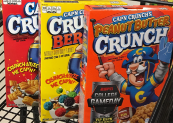 Cap'n Crunch Cereal for as Low as $1.19 (Save 66%)
