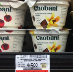 FREE Chobani Yogurt at Safeway – Up to a $1.20 MONEYMAKER