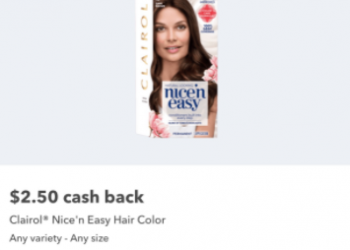 Clairol Nice'n Easy – Only $2.99 TOTAL for Hair Color AND a Root Touch-Up