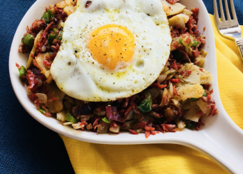 The Hashinator – Corned Beef Hash Skillet Recipe