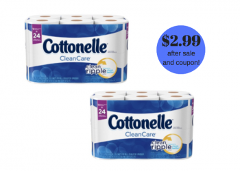 HOT! Cottonelle Catalina at Safeway – Pay Just $2.99 each package