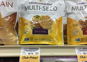 Crunchmaster Coupon & Sale, Pay $1.50 for Crackers (Save 60%)
