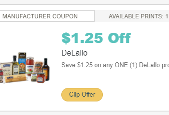 DeLallo Salad Savors for as Low as $1.24