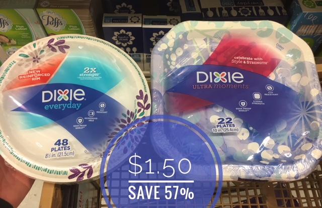 Dixie Paper Plates Just $1 50 - Save 57% - Super Safeway