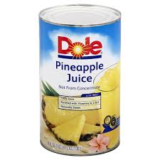 Dole Pineapple Juice Coupon – $1.49 for 46 Ounce Cans