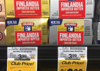 Finlandia Coupon & Sale, Pay $2.00 for Imported Butter