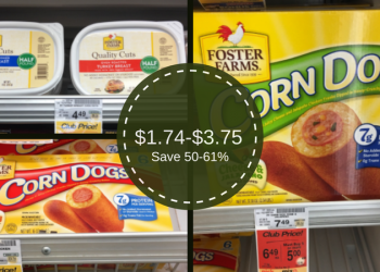 Foster Farms Savings – as Low as $1.74 for Corn Dogs or Lunchmeat