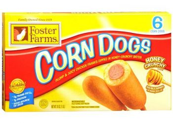 Foster Farms Corn Dogs for $2.04 ($0.34 Per Serving)