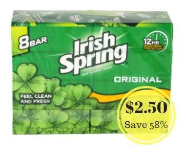 Irish Spring price
