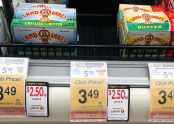 Land O Lakes Butter Coupon, Pay $2.50 (Save 52%)