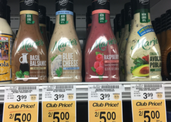 Marie's Salad Dressing on Sale – Only $1.50 After the Coupon