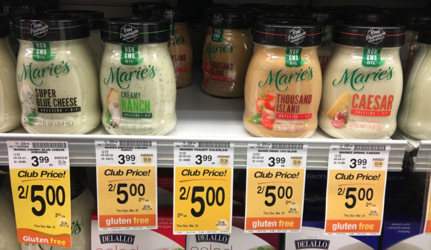Marie's salad dressing where to buy