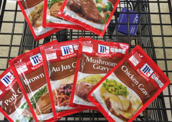 McCormick Gravy Coupon, Only $0.50 (Save 72%)