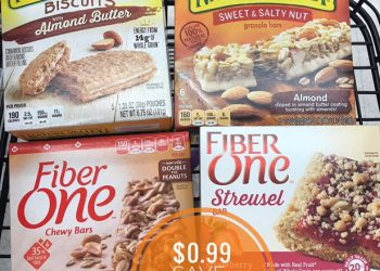 Nature Valley and Fiber One Bars Just $0.99 at Safeway