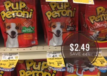 Get Pup-Peroni Dog Treats for Just $2.49 With Sale and Coupon at Safeway (Reg. $4.49)
