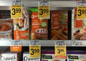 Quorn Coupon Stack, Pay as Low as $1.04 for Plant-Based Protein