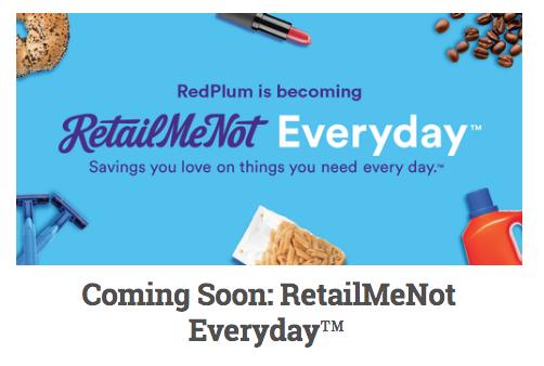 RedPlum Rebranding as RetailMeNot