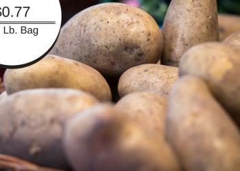 Signature Farms Russet Potatoes – 10 Pounds for $0.77