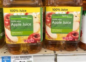 Signature Kitchens Apple Juice or Cider for $1.29
